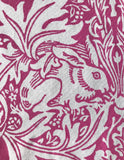 Pink 'Brother Rabbit' Screen Print Tea Towel