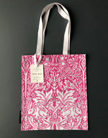 Pink 'Brother Rabbit' Screen Print Tote Bag