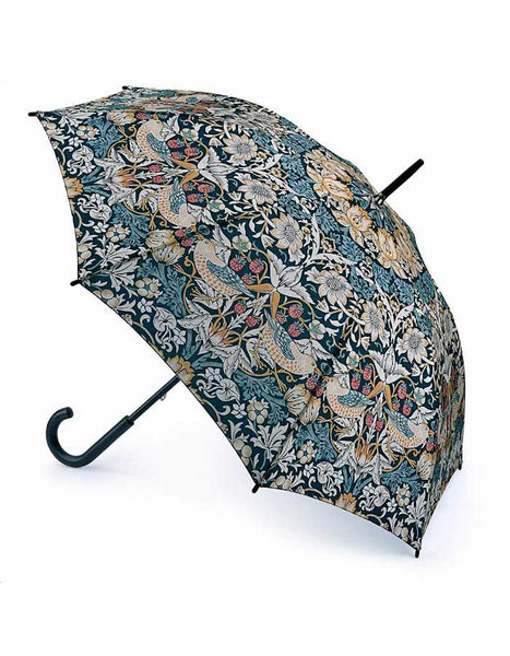Morris & Co Strawberry Thief Print Canopy Umbrella
