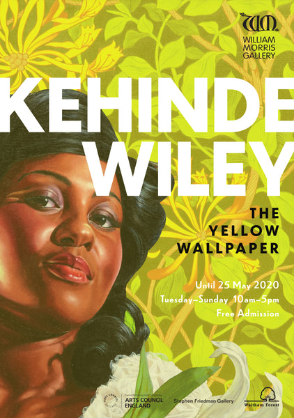 Kehinde Wiley The Yellow Wallpaper A2 Poster