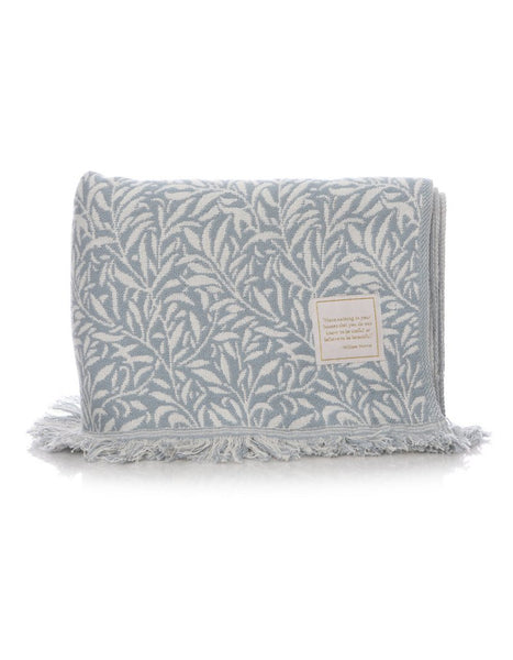 Willow Blue Throw