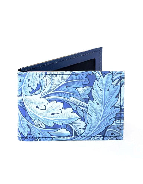 Acanthus Leather Travel Card Holder