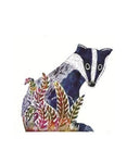 Badger 3D Greetings Card