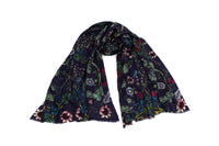 Blackthorn Gallery Scarf (Blue)