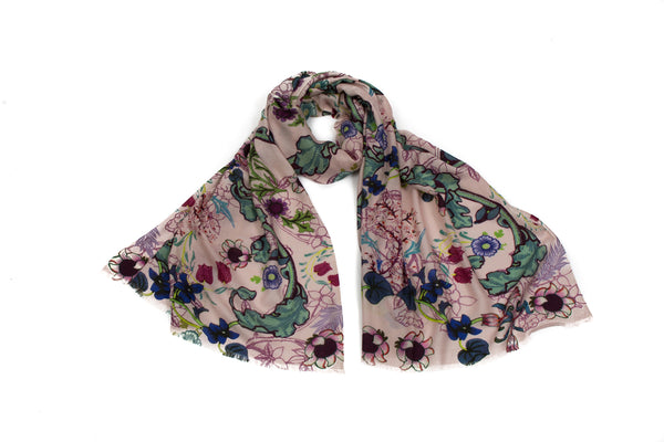 Blackthorn Gallery Scarf (Pink)