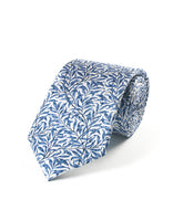 Willow Bough Pattern Tie (blue)
