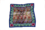 Corncockle Gallery Silk Scarf (Blue)