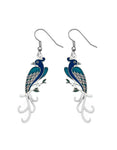 Sea Gems - Enamel Birds of Paradise Earrings