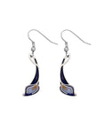 Sea Gems - Enamel Lily Earrings (purple/lilac)