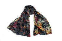 Grapevine Gallery Scarf (Grey)