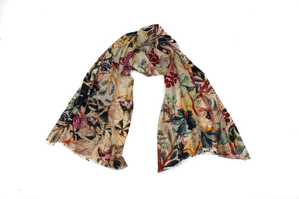 Grapevine Gallery Scarf (Natural)