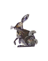 Hare 3D Greetings Card