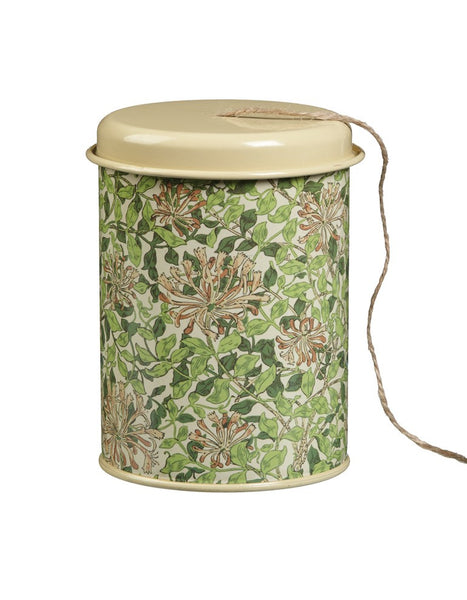 Honeysuckle String in a Tin