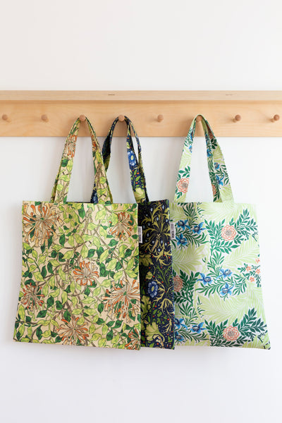Honeysuckle Cotton Tote