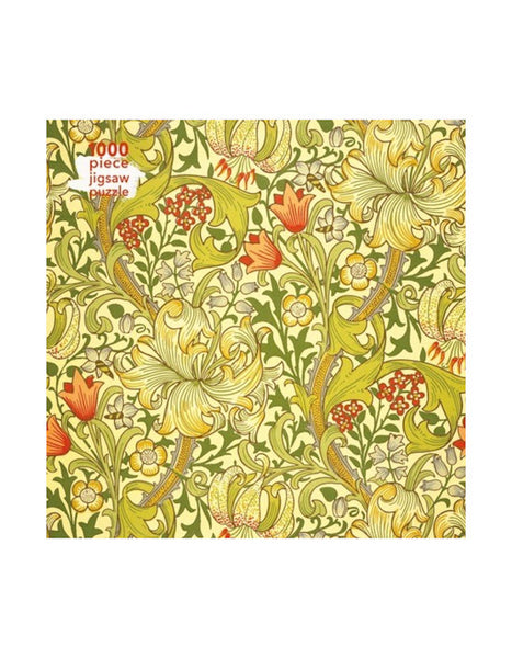 Golden Lily Jigsaw Puzzle