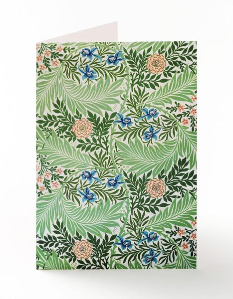 Larkspur Greetings Card