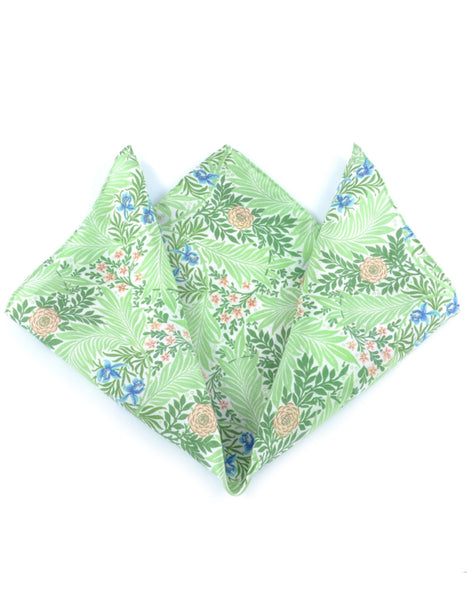Larkspur Pocket Square