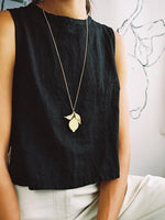 Wolf & Moon Lemon Necklace