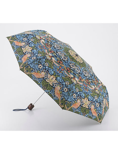 Morris & Co Strawberry Thief Print Umbrella