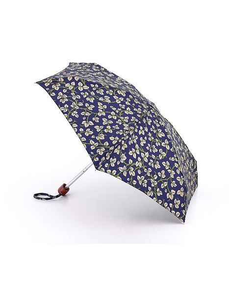 Morris & Co Merton Leaf Print Umbrella