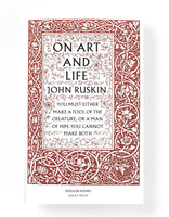 On Art and Life - John Ruskin