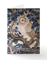 Owl Embroidery Greetings Card
