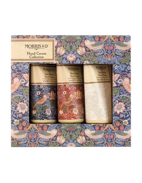 Morris & Co Strawberry Thief Handcream Collection