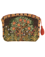 Orange Tree Tapestry Purse