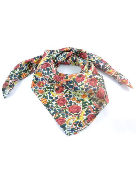 Rose Square Scarf