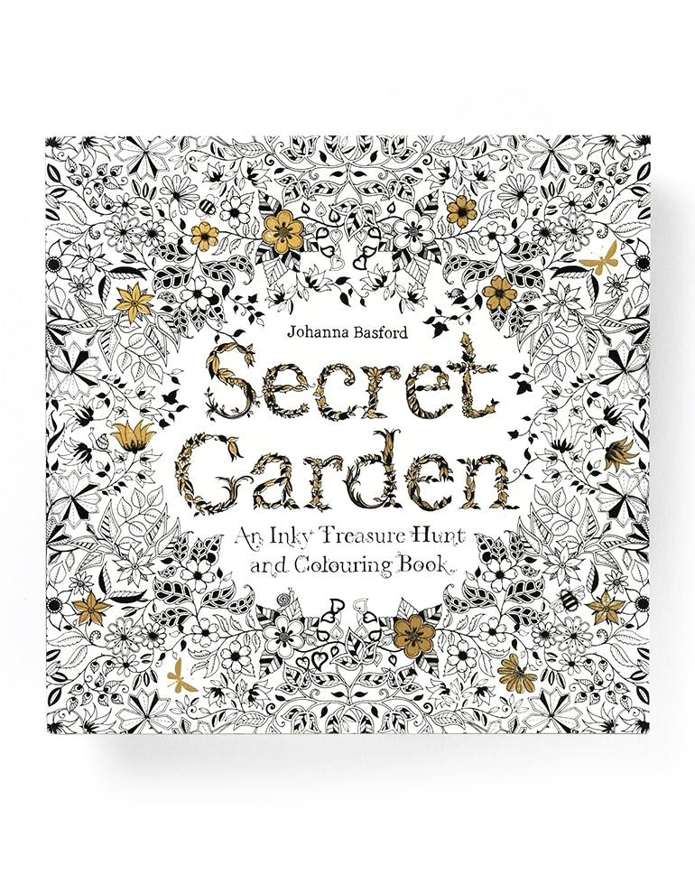 Secret Garden: An Inky Treasure Hunt and Colouring Book - Johanna Basford