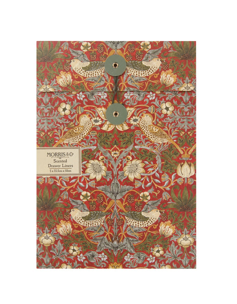 Morris & Co Strawberry Thief Scented Drawer Liners