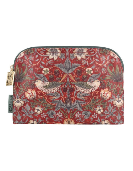 Morris & Co Strawberry Thief Small Cosmetics Bag