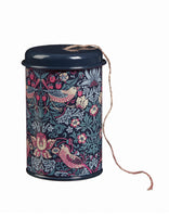 Strawberry Thief String in a Tin