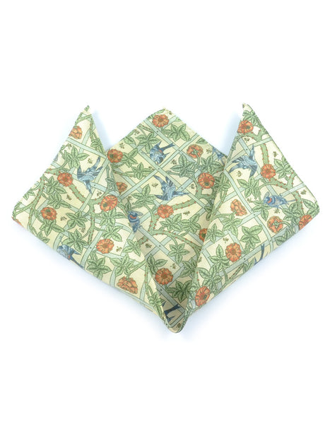 Trellis Pocket Square