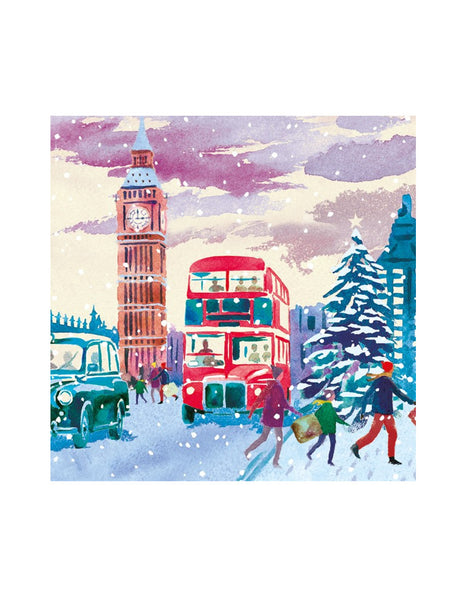 Westminster Bridge Christmas Cards (pack of 5)