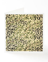 Willow Bough Square Greetings Card