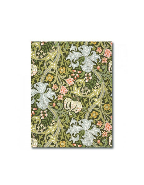 Golden Lily A6 Hardback Notebook