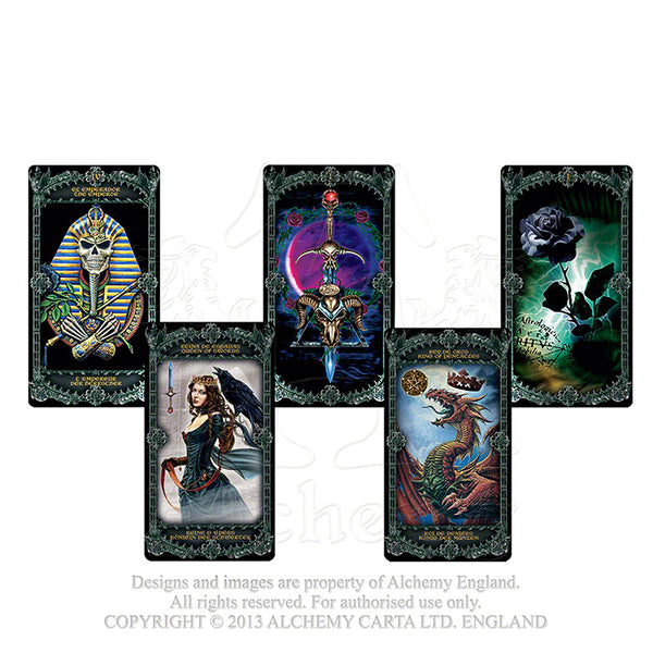 Alchemy Illustrated Tarot Cards