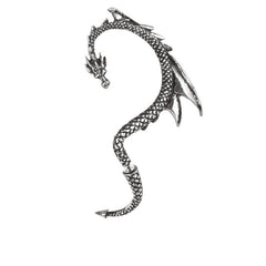 Dragon Mother Ear Wraps - Silver