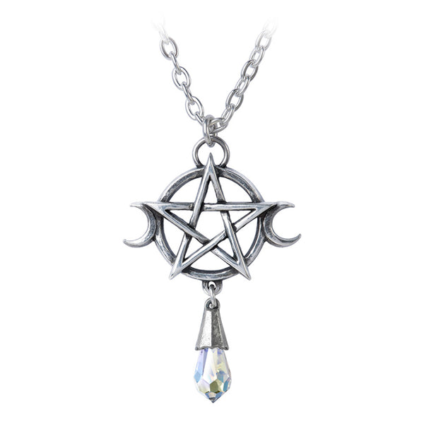 Wiccan Moon Goddess Pendant