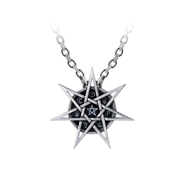 Seven Points Star Pendant