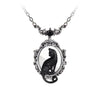 Feline Reflection Necklace
