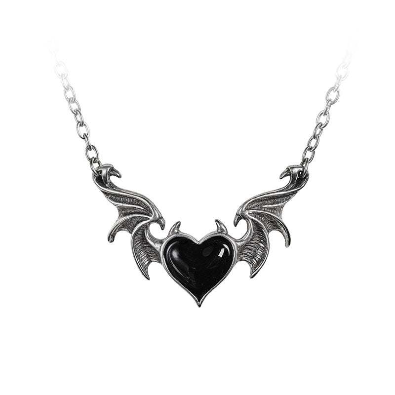 Dark Heart Necklace