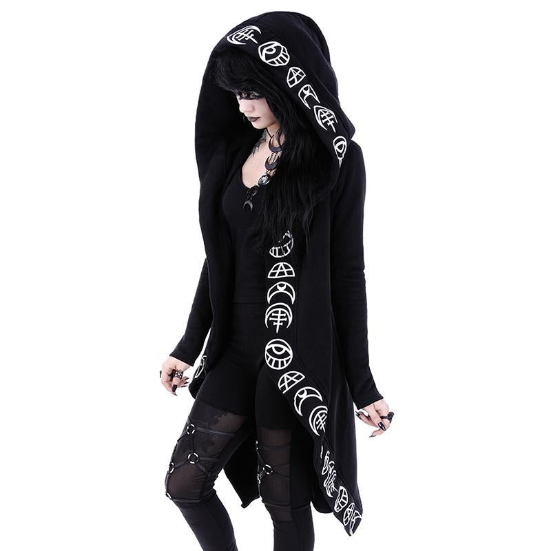 Moon Maiden Caped Hoodie