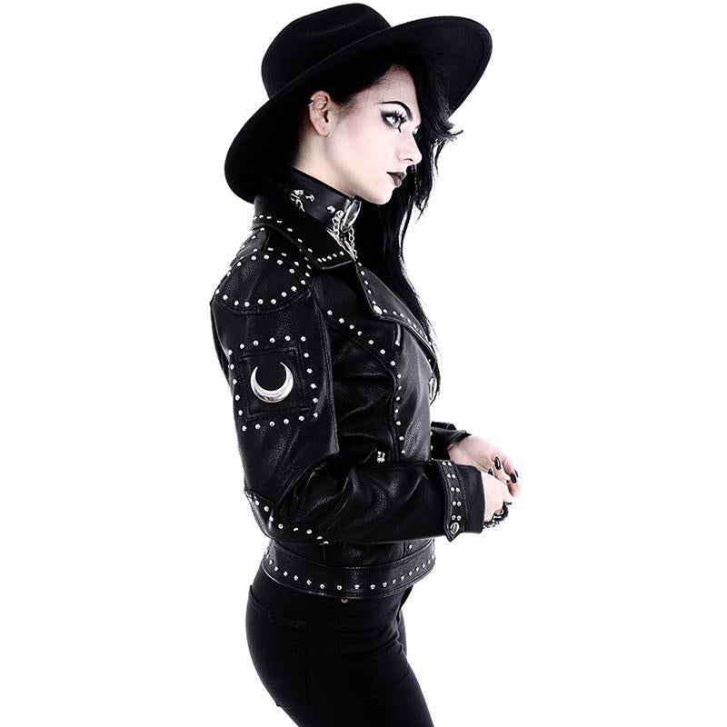 Lunar Queen Biker Jacket