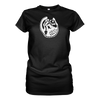 X-Ray Kitty Babydoll Tee - Black