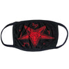Baphomat Face Mask - Red
