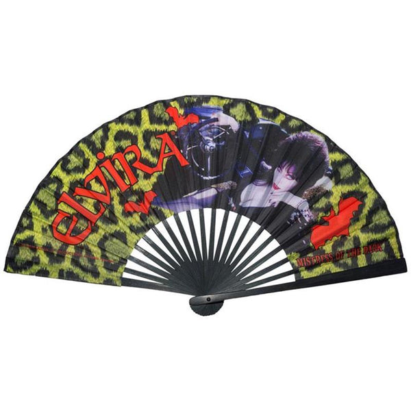 Elvira Leopard Print Fan