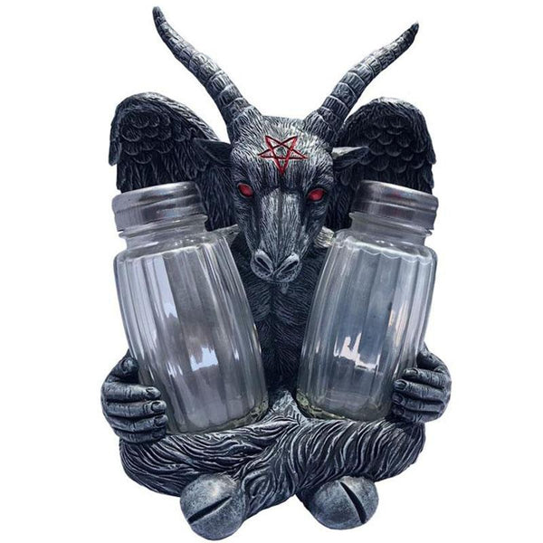 Baphomet Salt & Pepper Shaker