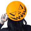 Trick or Treat Pumpkin Beret - Orange